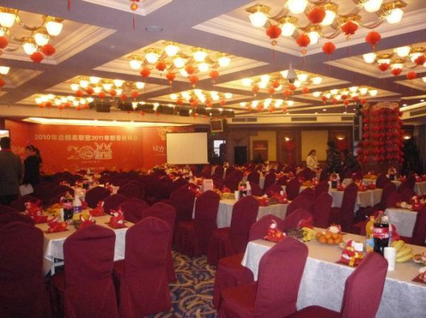 集团2010年总结表彰暨2011新春团拜会